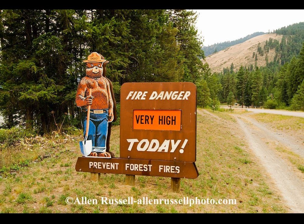 very high fire danger