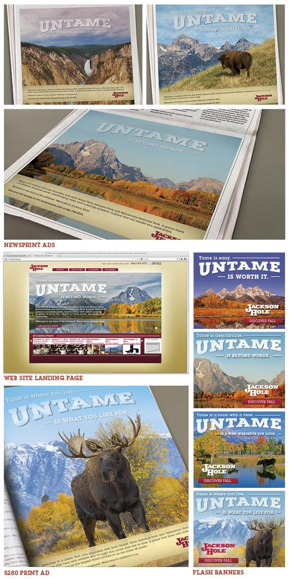 Fall 2012 Collage of Marketing Campaign